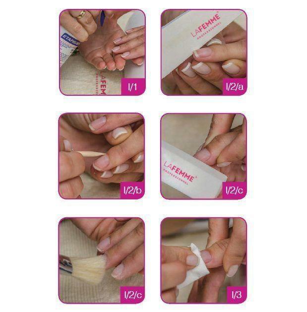 Fase I - preparazione dell'unghia