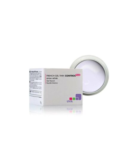 CONTROL PLUS™ Gel UV French densità medio-bassa Bianco Neve 15gr