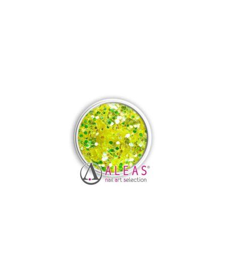Coriandoli hologram gialli