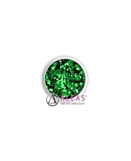 Coriandoli hologram smeraldo