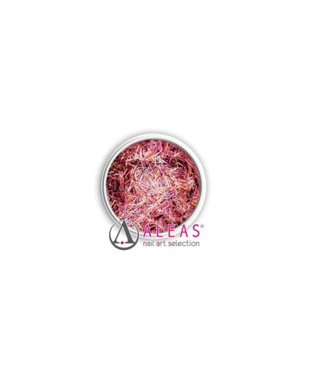Fili scintillanti rosa antico