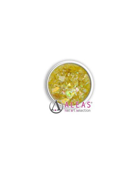 Fiocchi scintillanti gialli