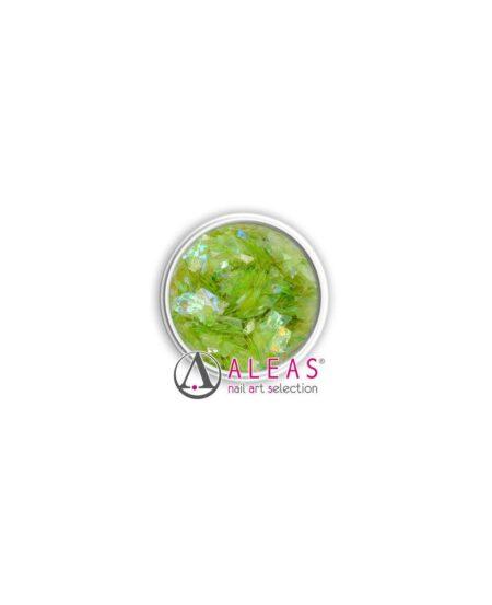 Fiocchi scintillanti verde menta