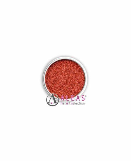 Micro sfere rosso bruno