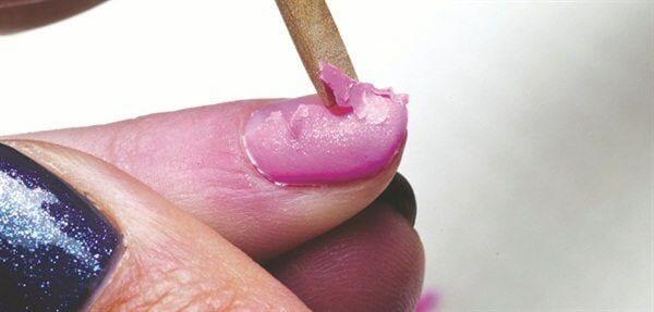 rimozione gel polish