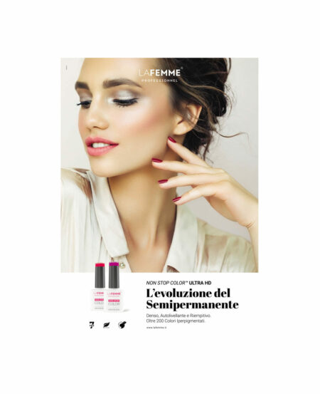 "Brochure presentativa Gel Polish ""NON STOP COLOR™"" Ultra HD - con passo passo"