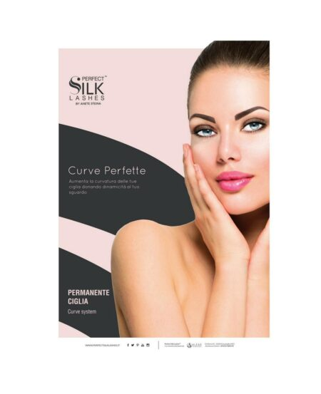 Poster Perfect Silk Lashes™ Permanente Ciglia - 50x70cm