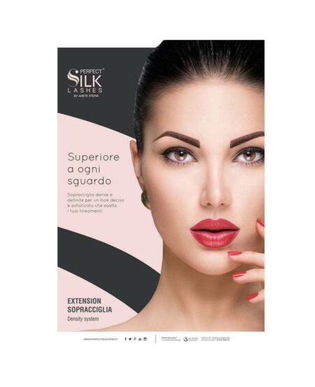 Poster Perfect Silk Lashes™ Tecnica Eyebrow - 50x70cm