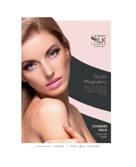 Poster Perfect Silk Lashes™ Tecnica One by One - 50x70cm