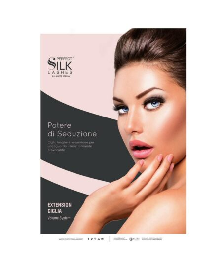 Poster Perfect Silk Lashes™ Tecnica Volume - 50x70cm
