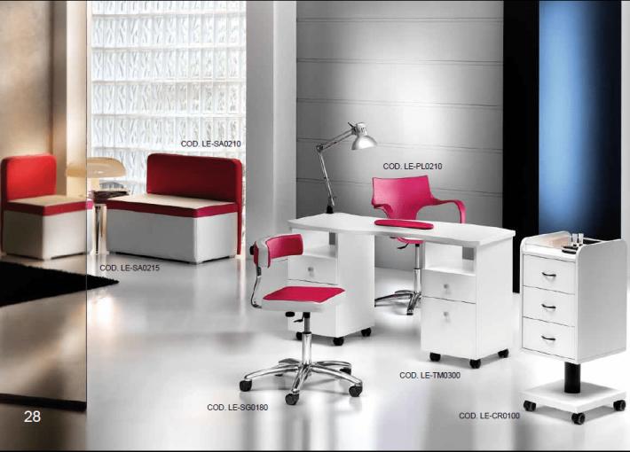 Arredamenti per centri estetici nail center e for Gamma arredamenti parrucchieri
