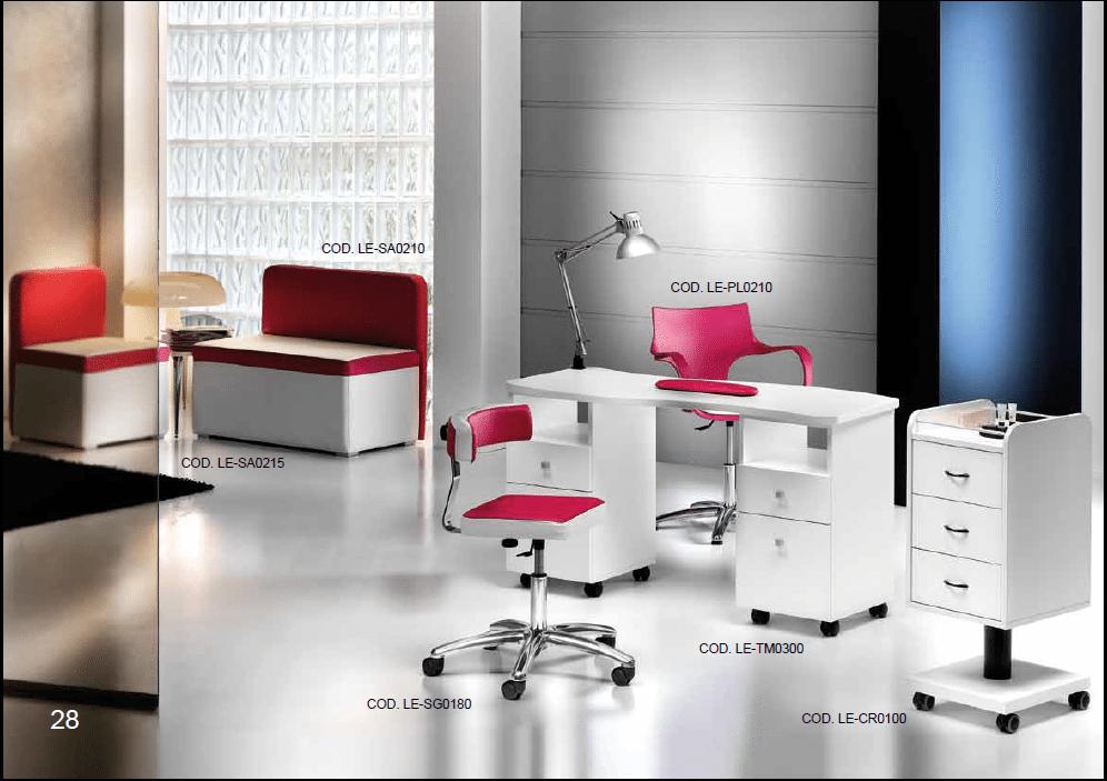 Arredamenti per nail center centri estetici e for Arredamento centro estetico prezzi