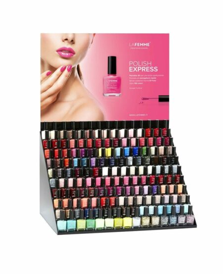 Espositore da Banco Smalto Polish Express™ (180 alloggi) - VUOTO