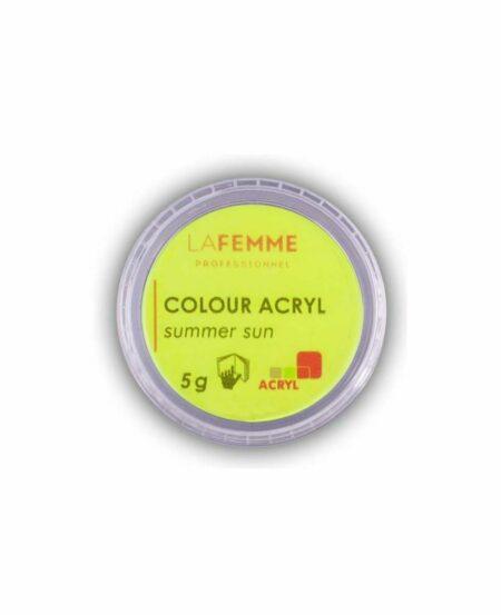 polvere-acrilica-colorata-neon-giallo