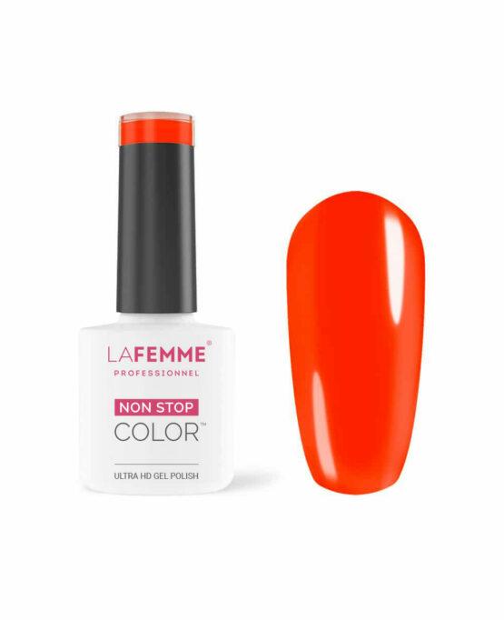 smalto semipermanente arancione neon