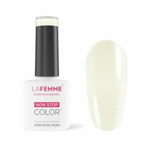 Smalto Semipermanente Bianco Trasparente Glitter