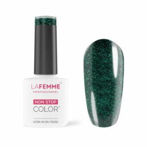Smalto Semipermanente Verde Glitter 56