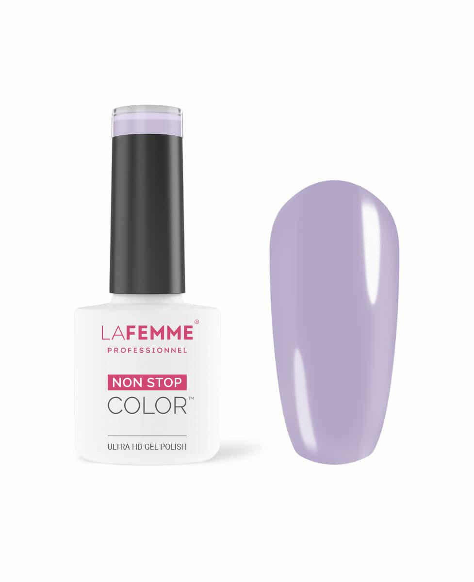 smalto per unghie color glicine