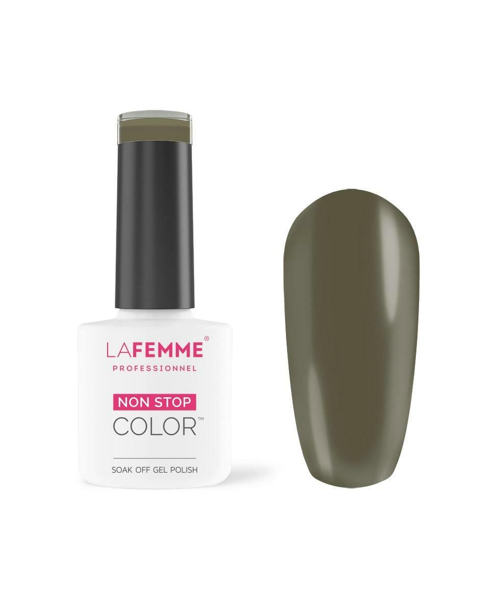 smalto per unghie color verde militare