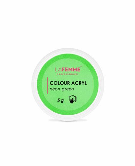 Polvere Acrilica Colorata 5gr - Acrìl™ Line Neon Green