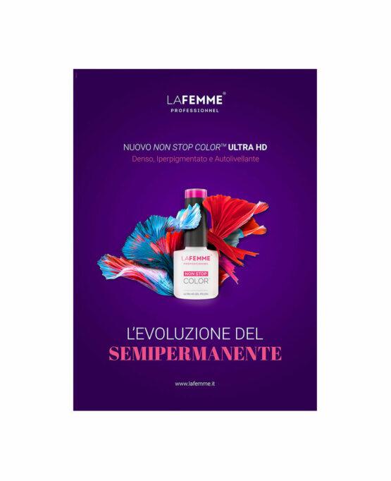 Brochure presentativa Smalto semipermanente iperpigmentato - con passo passo