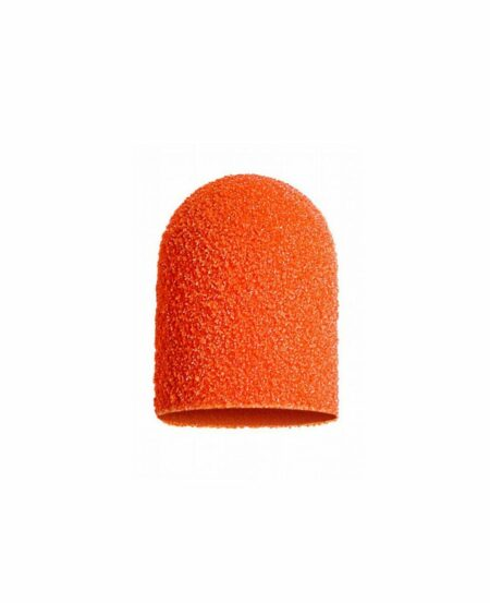 Cappucci Abrasivi Podo LUKAS 10mm - 150 grit grana media - 10pz Arancioni