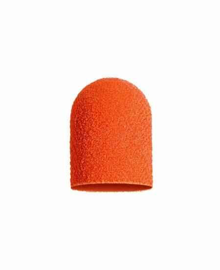 Cappucci Abrasivi Podo LUKAS 10mm - 320 grit grana fine - 10pz Arancioni
