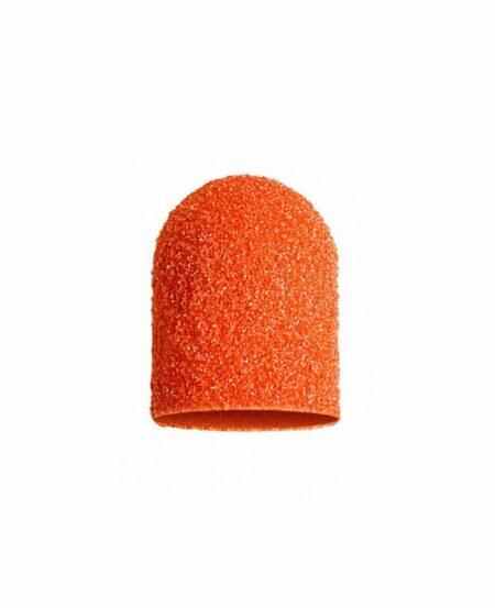 Cappucci Abrasivi Podo LUKAS 10mm - 80 grit grana grossa - 10pz Arancioni
