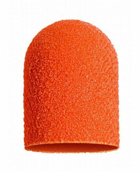 Cappucci Abrasivi Podo LUKAS 16mm - 320 grit grana fine - 10pz Arancioni