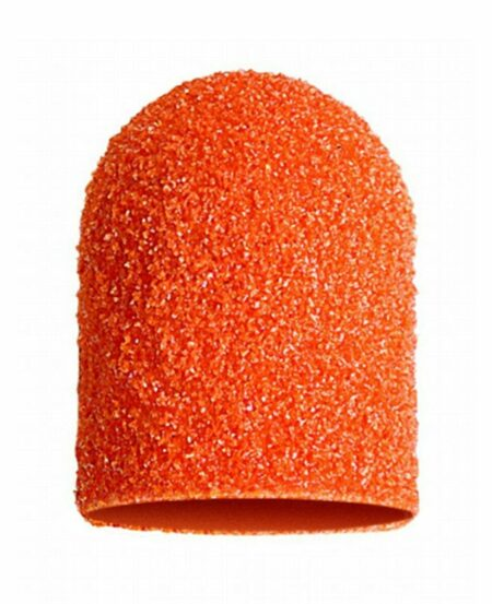 Cappucci Abrasivi Podo LUKAS 16mm - 80 grit grana grossa - 10pz Arancioni