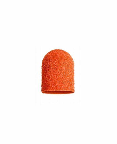 Cappucci Abrasivi Podo LUKAS 5mm - 80 grit grana grossa - 50pz Arancioni