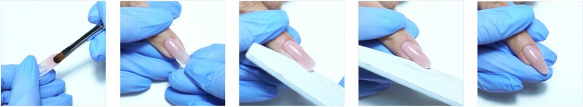 applicazione tips per ricostruzione unghie