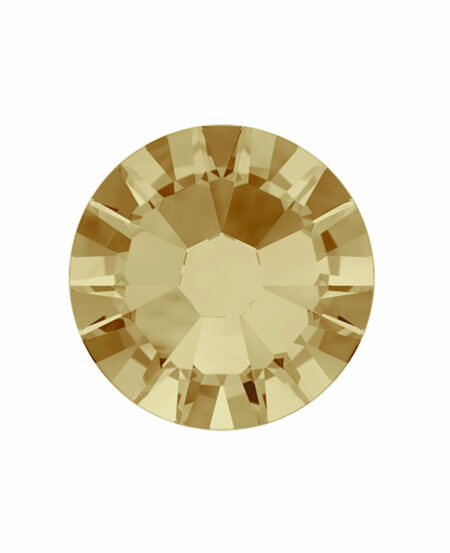 Swarovski Light Gold (SS5 Light Colorado Topaz) - Oro Chiaro 50pz