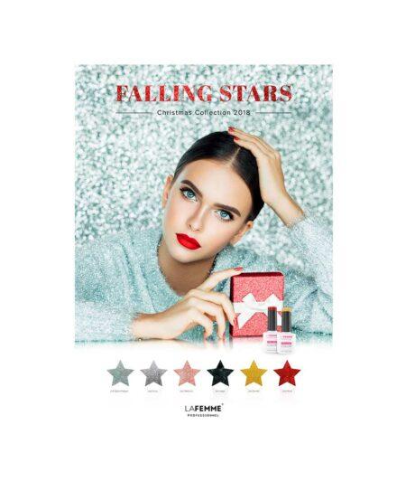 Poster-falling-stars-La-Femme®-50x70cm