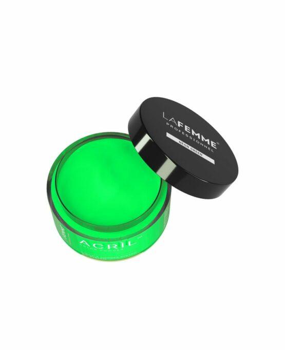 acrilico verde neon