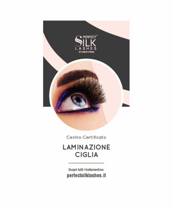 centro laminazione ciglia perfect silk lashes