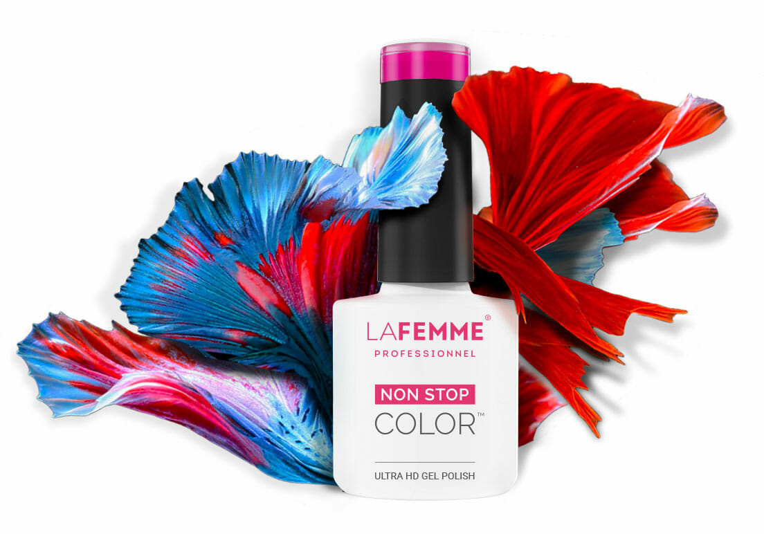 migliore smalto semipermanente alta densità non stop color la femme