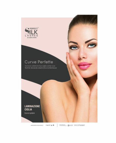 Poster Perfect Silk Lashes™ Laminazione Ciglia - 50x70cm