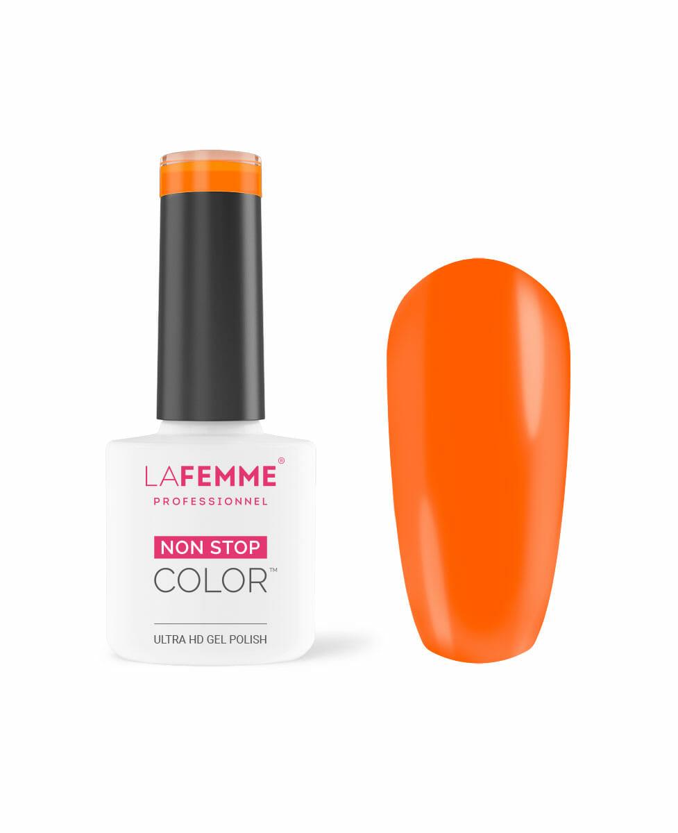 Smalto arancione neon estivo