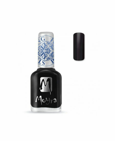 Moyra® Smalto per Stamping - SP06 BLACK 12ml