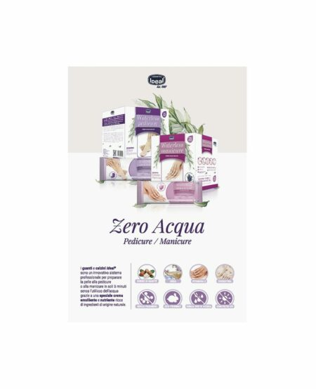 Brochure informativa Waterless Manicure/Pedicure IDEAL®