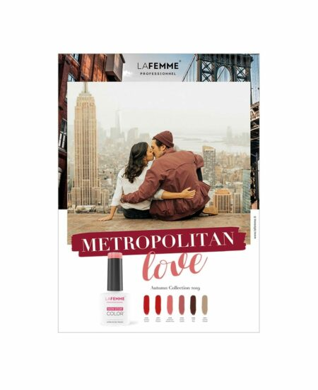 Poster NON STOP COLOR™ - Metropolitan Love - Autumn Collection 2019 - 50x70cm