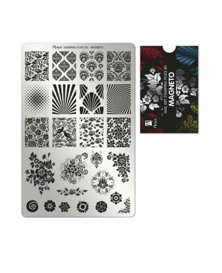 Piastra Stamping Moyra® 80 - Magneto - 9,5cm x 14,5cm