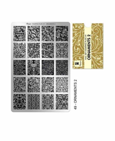 piastra stamping moyra 49 ORNAMENTS 2