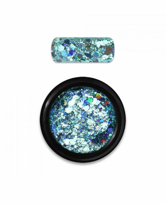 Polvere Glitter Holo Mix 04 - Turchese