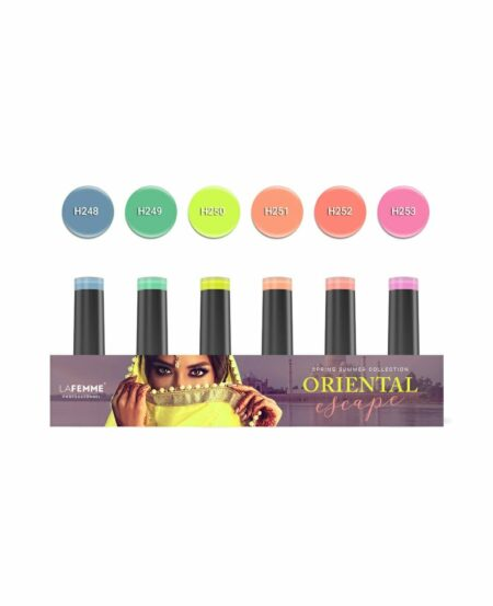 "Kit ""Oriental Escape"" Non Stop Color™ UV&LED - 6pz"