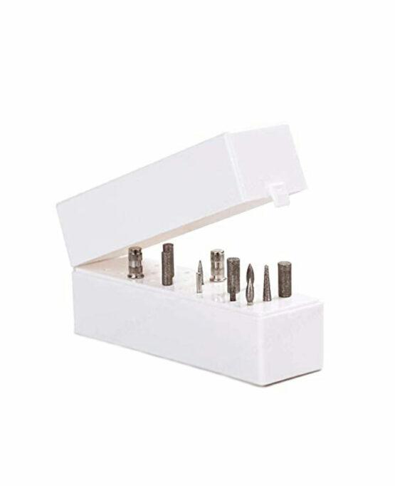 contenitore porta punte fresa unghie