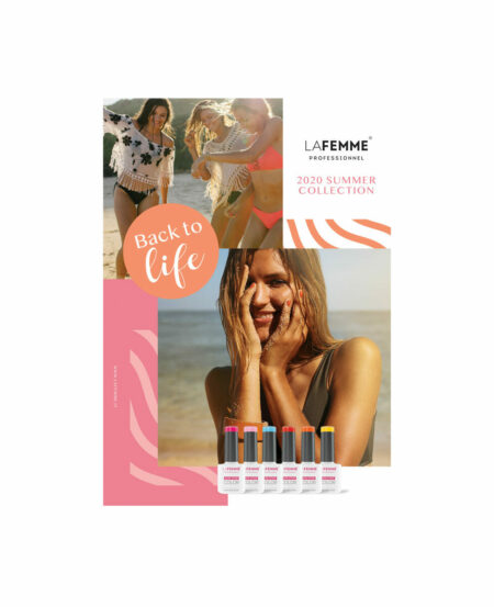 Poster NON STOP COLOR™ - Back To Life - Summer 2020 - 50x70cm