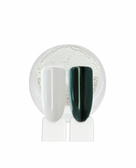 Polvere Effetto Shell - Aurora Verde