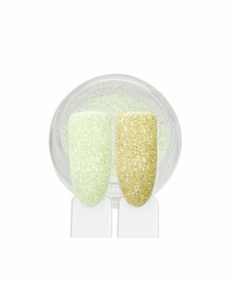 Polvere Glitter Sottile - Giallo Chiaro